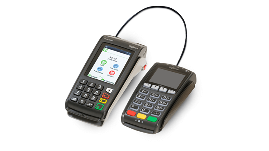 Image of the TD Desk 5000 POS Device