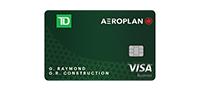 TD Aeroplan Visa商務卡