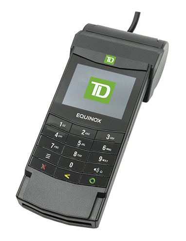 TD Desk 5000 POS设备的图片