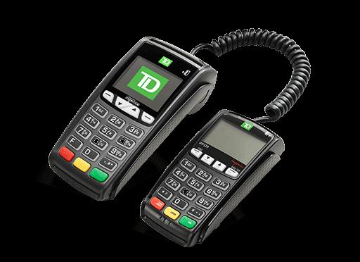 TD iCT250 POS Device│TD Canada Trust