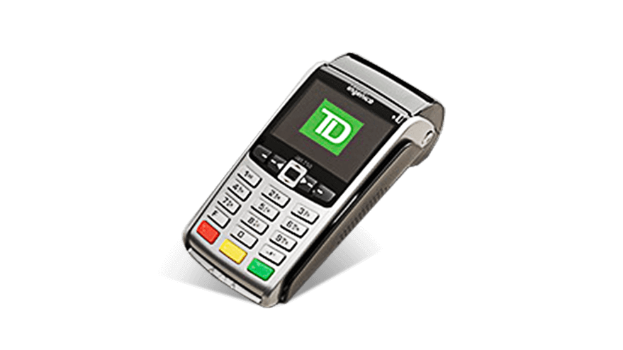 Image of the TD iWL255 3G Wireless POS Terminal