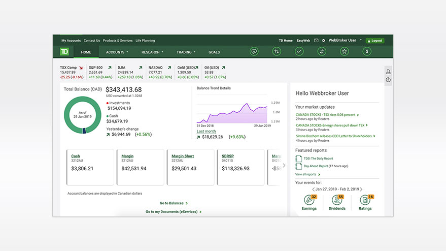 Td waterhouse investment savings account total liabilities formula investopedia forex