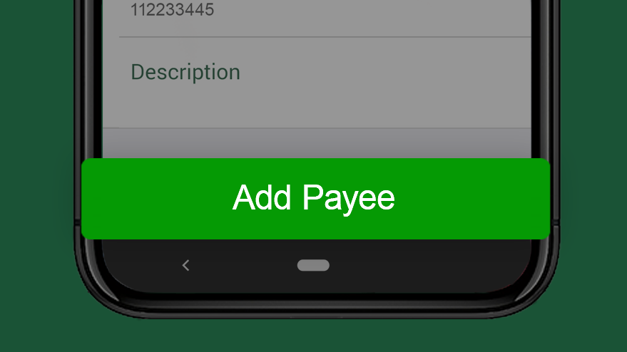 Review and add payee