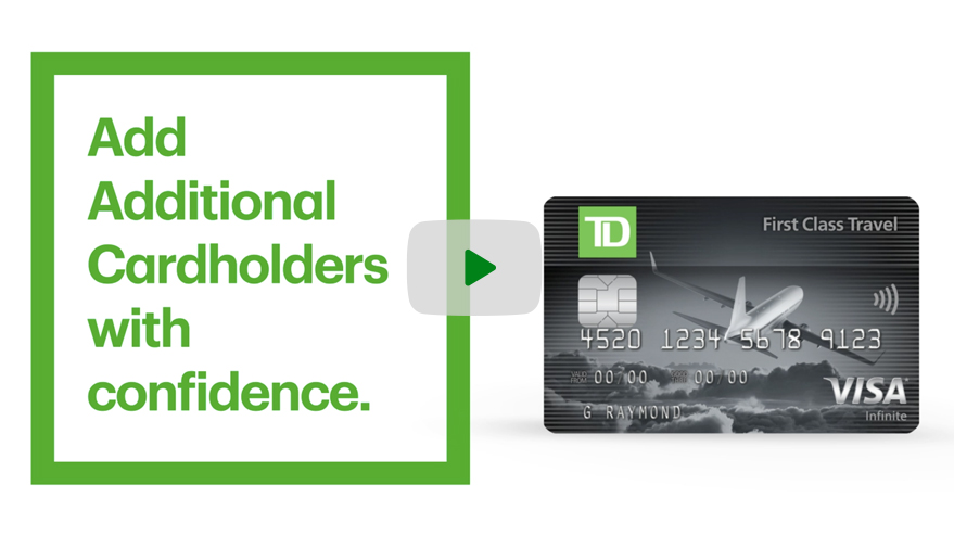 Lock or unlock your credit card in the TD app