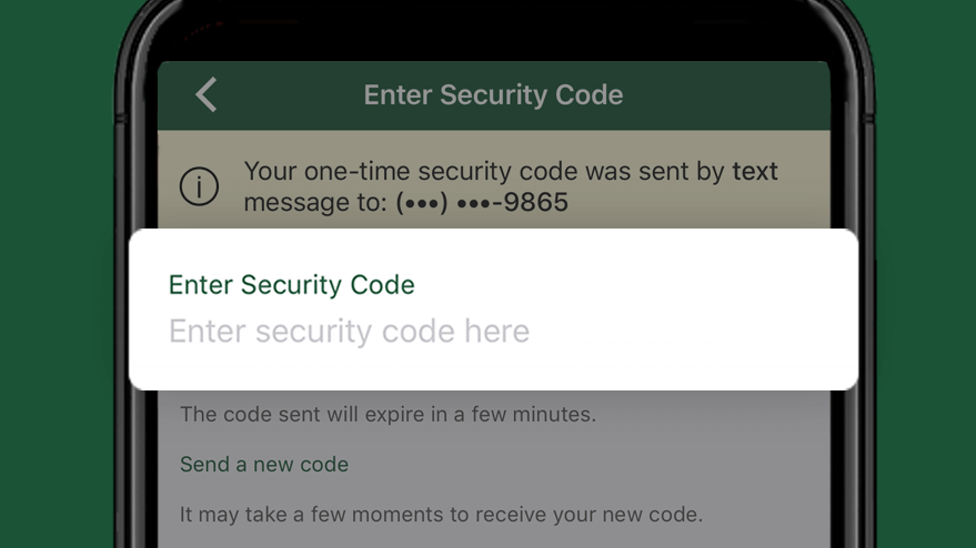 Enter Security Code