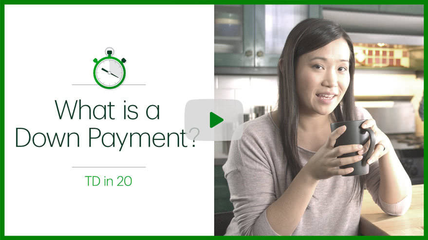 Play Down payment video