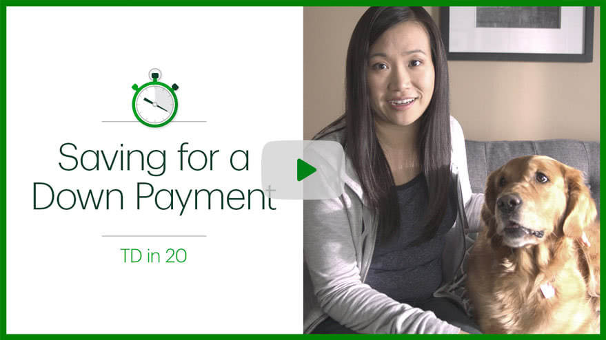 Down Payments - TD Canada Trust