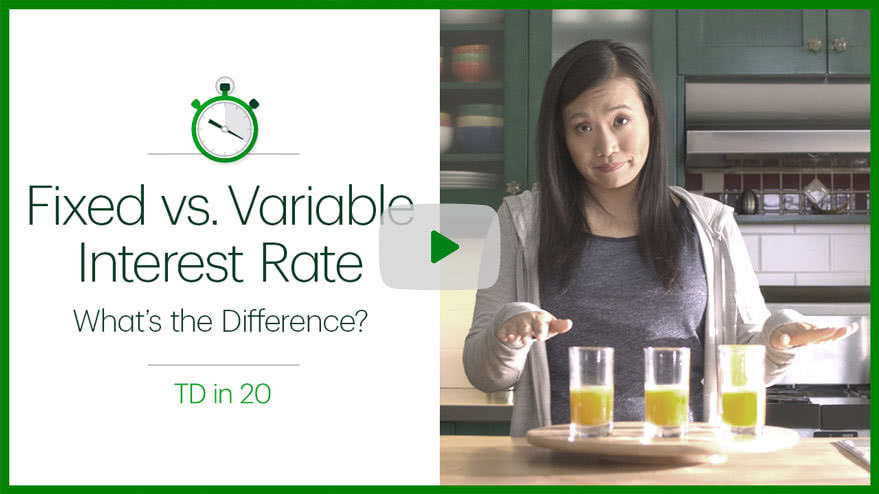 Play Fixed vs variable interest rate video
