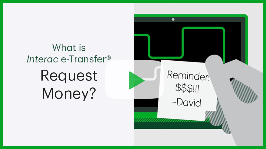 Play what is Interac e-Transfer Request Money?