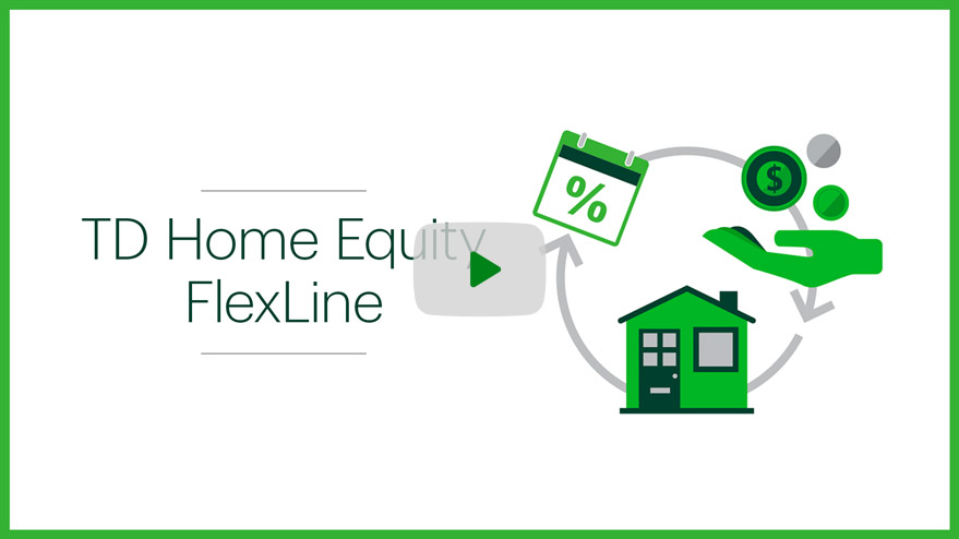 Td Home Equity Flexline Heloc Td Canada Trust