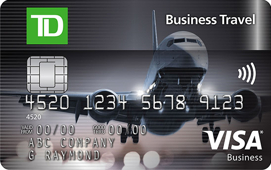 Apply for a td business travel visa card td canada trust get up to 60000 td rewards points 1 a total value of 300 in business travel savings when you book through expediafortd reheart Image collections