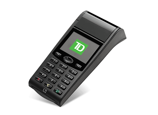 Image of the TD Generation WiFi POS Device