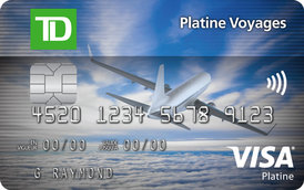 TD Platinum Travel Visa Card
