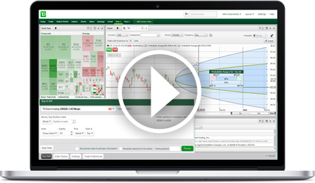 Advanced Dashboard Td Direct Investing