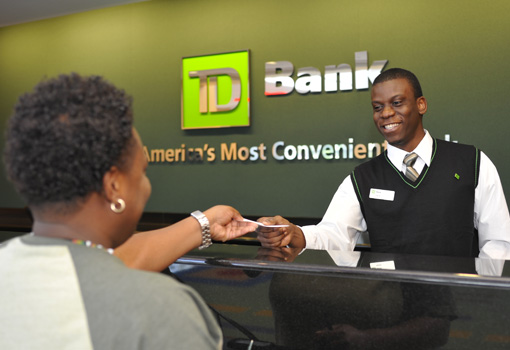 Photo d'employés de la TD Bank