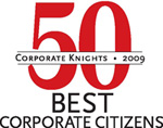 50 Corporate Knights 2009 - best corporate citizens