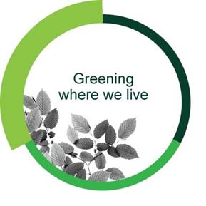 Greening where we live