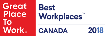 Great Place to Work – Best Workplaces 2018 Canada