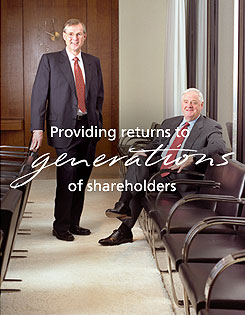 Providing returns to generations of shareholders