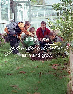 Helping new generations learn and grow