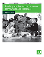 TD Annual Report 2016