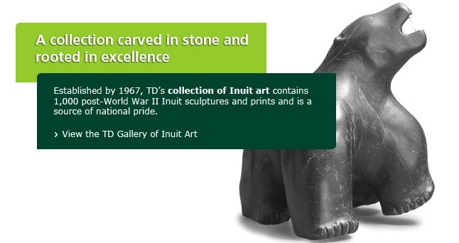 A proud TD tradition of supporting Aboriginal art and communities.