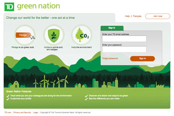 Learn more about TD's Green Nation