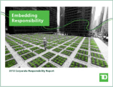 2012 Corporate Responsibility Report cover