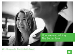 2014 Corporate Responsibility Report cover