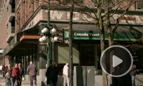 When rough economic times hit the Downtown Eastside of Vancouver, many businesses packed-up and left the area.