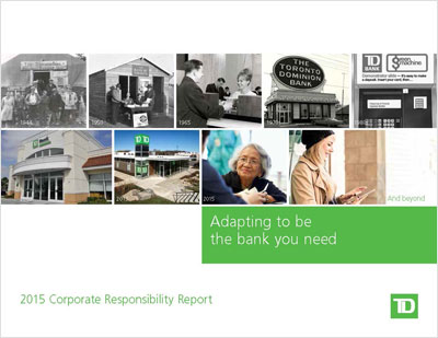 2015 Corporate Responsibility Report cover