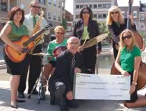 TD Canada Trust was the Presenting Sponsor of Brantford International Jazz Festival