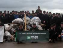 Shoreline Cleanup in Charlottetown