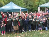 Photo TD employees during Ottawa Shoreline Cleanup