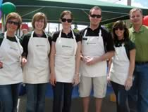 TD employees at the Avenue Community Center