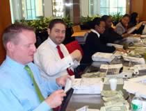 TD Bank volunteers at our Wall Street Store