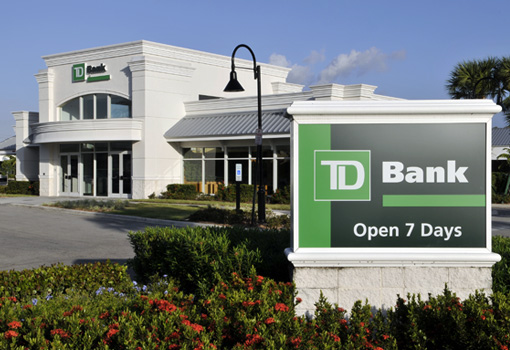 Photo of TD Store in U.S.