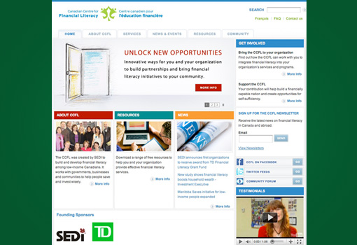 Image of SEDI website