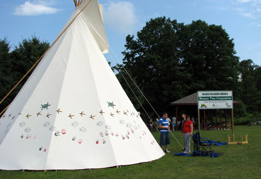 Photo of Munsee-Delaware event
