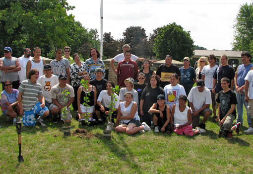 Photo of Munsee-Delaware community