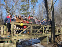 photo of TD employees, Bruce Trail Conservancy