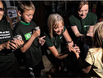 photo of TD employees, Elizabeth's Wildlife Centre