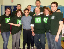 photo of TD volunteers