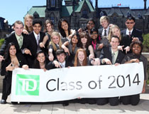 photo of students, TD Scholarships for Community Leadership