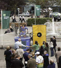 photo of TD dunk tank