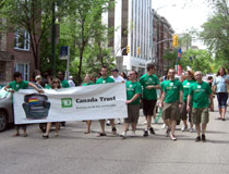 photo of TD employees, Pride Winnipeg Festival