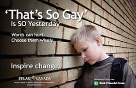 TD supports PFLAG poster campaign