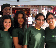 TD Employees at the Festival of South Asia