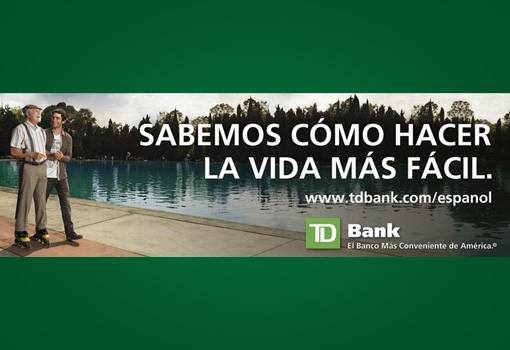 Image of advertisement in Spanish