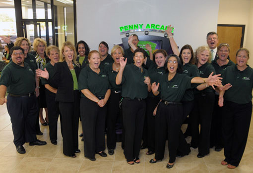 Group of TD Bank employees